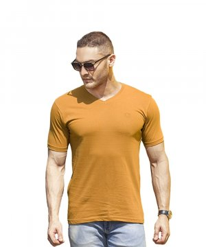 Signature Class Men's V Neck Short Sleeve 006